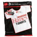 Hanes ヘインズ 赤ラベル 3P−パックt クルーネックTシャツ(ヘインズtシャツ) 赤パック クルーネックtシャツ レッドパ…