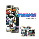 STICKERBOMB Skin For iStick Pico No.006【ステッカーボム】【04】【スキンステッカー】【ラッピングステッカー】【…