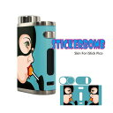 STICKERBOMB Skin For iStick Pico No.034【ステッカーボム】【04】【スキンステッカー】【ラッピングステッカー】【…