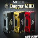 ★NEWカラー★VO Tech Dagger MOD(ダガーモッド)【ブイオーテック】【04】【温度管理機能 TC】【サブオーム SUBΩ】【ボックスタイプ B…