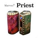 Marvec Priest 75W TC VW APV Box Mod(プリースト)【マーベック】【ボックスタイプ】【テクニカルMOD】【スタビライズウッド】