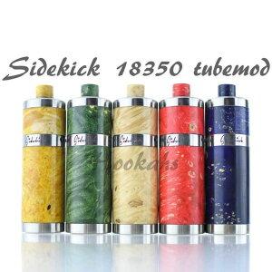 電子タバコ べイプ メカニカルMOD Sidekick 18350 【d143】 mod メカニカル チューブ mod stab Tube mod VAPE ハイエンドモッド ハイブリット一体型 軽量 コンパクト 中級 上級