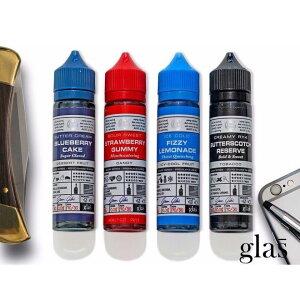電子タバコ べイプ リキッド レモネード GLAS BASIX E-LIQUID 60ml 【e-liquid7】ブルーベリー パイン ライム RY4 バナナ