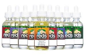 ベイプ アップル リキッド リアルりんご! REDS APPLE EJUICE 60ml 【e-liquid14】レッズ アップル ブルーベリー グレープ メンソール フルーツ