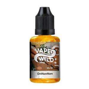 電子タバコ ベイプ バタースコッチ リキッド VAPEWILD EJUICE OmNomNom 30ML 【e-liquid43】ジンジャー 爆煙 バター 甘い 塩