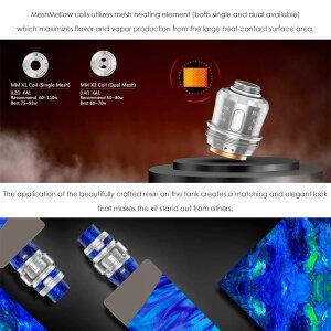 geekvapeALPHATANK【25mm】【DTL】【爆煙】【クリアロマイザー】【サイドエアフロー】電子タバコアトマイザーVAPE