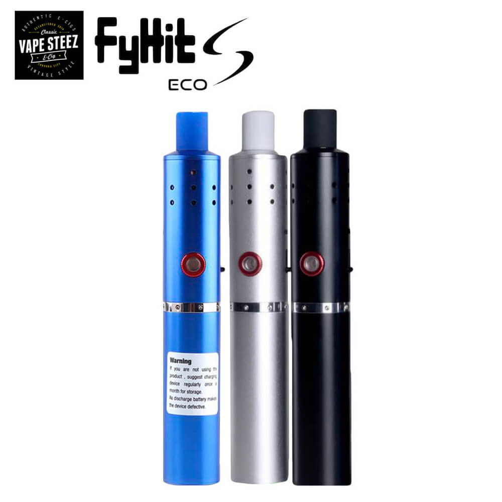 加熱式タバコ ヴェポライザー 電子タバコ スターターキット Fyhit ECO S シャグ iqos アイコス 互換 Herbstick ECO 改良版 正規 メーカー保証90日