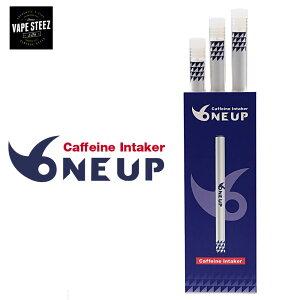 【 メール便で 送料無料 】使い捨て 電子タバコ カフェイン入り Caffeine Intaker ONEUP 吸うだけ簡単 vape Eagle Energy イーグルエナジースターターキット カフェイン配合 3本セット ニコチン0 タール0