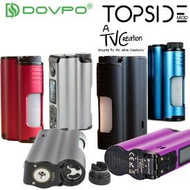 電子タバコ BF スコンカー MOD DOVPO TOPSIDE Squonk Mod 90W 20700 21700 18650 10mlスコンク シリコンボトル BF MOD トップサイド 【 vape 】