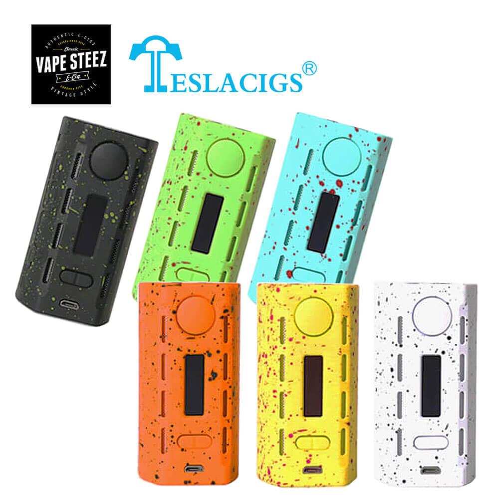 電子タバコ【 MOD 】TESLACIGS WYE 200 BOX MOD 200Wバッテリー2本使用 テスラ ワイ TESLA CIGS【 VAPE 】【 超軽量 】