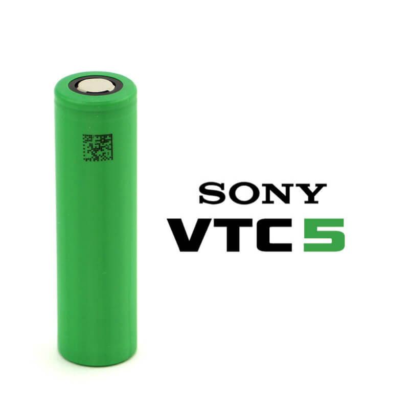 Sony - US18650 VTC5 2600mAh Li-Mn 30A (Pulse-60A) IMR リチウムマンガンバッテリー