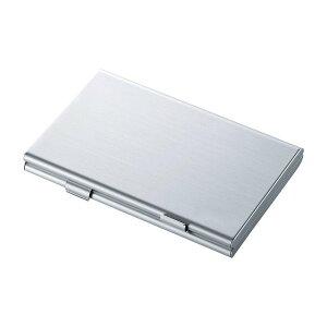 アルミメモリーカードケース SDカード用 両面収納タイプ 6枚収納 アルミケース[定形外郵便、送料無料、代引不可]