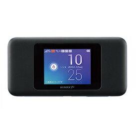 [中古美品]UQコミュニケーションズ モバイルルーター Speed Wi-Fi NEXT W06 HWD37SKU 《ブラック×ブルー》[送料無料(一部地域を除く)]