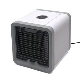 USBポータブルクーラー 風量3段階 7色 LEDムードライト 携帯式扇風機 卓上冷風扇 冷風機 ポータブルエアコン[送料無料(一部地域を除く)]
