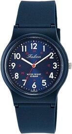 [シチズン キューアンドキュー]CITIZEN Q&Q 腕時計 Falcon ファルコン アナログ表示 10気圧防水 ウレタンベルト メタリックブルー VS04-002[定形外郵便、送料無料、代引不可]