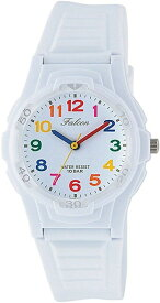 [シチズン キューアンドキュー]CITIZEN Q&Q 腕時計 Falcon ファルコン アナログ表示 10気圧防水 ウレタンベルト ホワイト マルチカラー VS06-001[定形外郵便、送料無料、代引不可]
