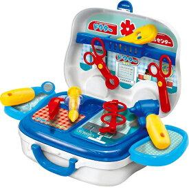 なりきりごっこあそびセット(A) なりきりドクターセット ままごと おもちゃ 知育玩具[送料無料(一部地域を除く)]