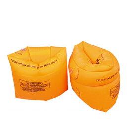 アームリング 2個セット オレンジ 腕浮き輪 アームヘルパー アームバンド 大人 子供用 補助具[定形外郵便、送料無料、代引不可]