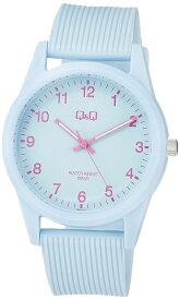 [シチズン キューアンドキュー]CITIZEN Q&Q 腕時計 アナログ 10気圧防水 ウレタンベルト 《ブルー》 VS40-011 レディース[定形外郵便、送料無料、代引不可]
