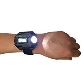 cf966c5f45 強力ライト付き 腕時計 200ルーメン USB充電式 時計 防災[時計][ギフト