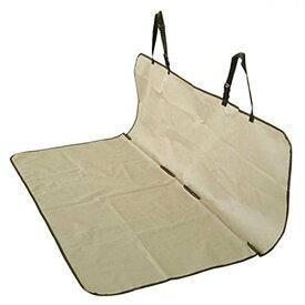 防水シートカバー 後部座席用 143×132cm フリーサイズ ベージュ[送料無料(一部地域を除く)]