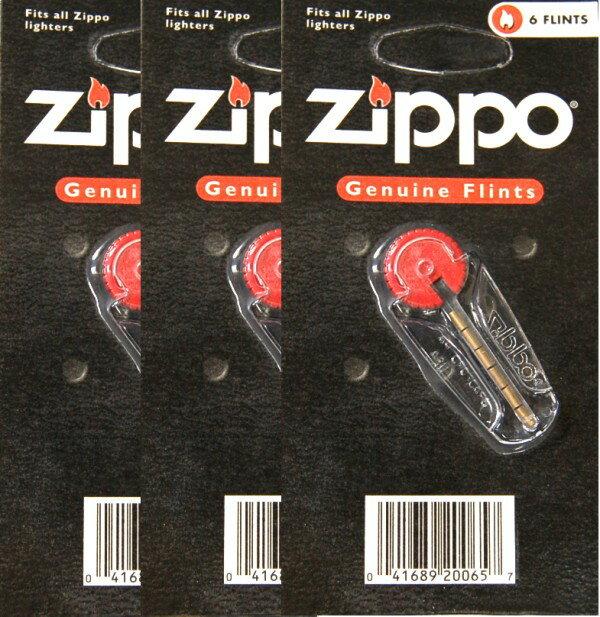 Zippo/ジッポー ジッポーライター専用フリント(替え石) 6粒入×3セット[メール便発送、送料無料、代引不可]【YDKG-kd】【smtb-KD】[その他HK]