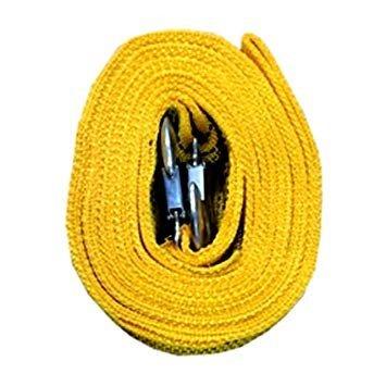 フック式 牽引 補助ロープ 《4m》 5トン車対応 牽引ロープ レスキューロープ 緊急【YDKG-kd】[送料無料(一部地域を除く)]