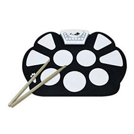 くるくる巻ける シート式ドラムセット エキサイトドラム 録音可能 デモ機能搭載 MP3 電池式[送料無料(一部地域を除く)]