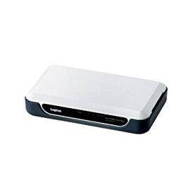 【中古品】Logitec スイッチングハブ 5ポート プラスチックケース 電源外付 10/100Mbps ホワイト LAN-SW05/PH【YDKG-kd】【smtb-KD】[その他PC]【中古】[定形外郵便、送料無料、代引不可]