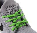 結ばない靴紐 CATERPYRUN (キャタピラン) 75-7CG キャタピーグリーン 75cm[メール便発送、送料無料、代引不可] 【YDKG…