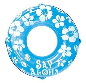 ドウシシャ 浮き輪 SayAloha ブルー 120cm[送料無料(一部地域を除く)]