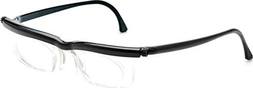 アドレンズ 遠近両用 老眼鏡 防災 緊急時 度数調節眼鏡 「アドレンズ スペアペア」 ブラック[メール便発送、送料無料、代引不可]【YDKG-kd】【smtb-KD】 [防災]