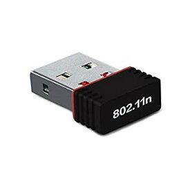 USB2.0 Wifi 無線LAN 子機 アダプタ IEEE802.11n/g/b 2.4GHz[定形外郵便、送料無料、代引不可]