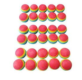 練習用 軽量 ウレタン ゴルフボール 30個セット 42mm【smtb-KD】[ゴルフ][消耗品][定形外郵便、送料無料、代引不可]