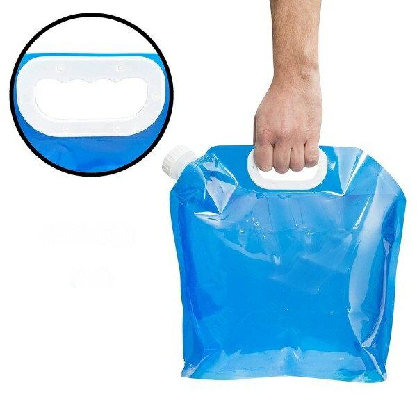 折りたたみ ポータブル 5L 水袋 ウォータータンク ウォーターバッグ 5リットル 給水袋 防災 非常用[メール便発送、送料無料、代引不可]【YDKG-kd】【smtb-KD】[防災]