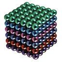 強力磁石の立体パズル マグネットボール 216個セット 5mm カラフル ネオジム磁石 パワーボール 立体パズル[[送料無料(…