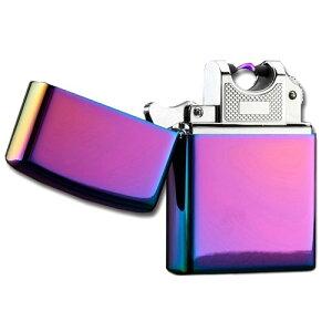 USB充電式 スパークライター アーク放電 プラズマライター (焼きチタン風)[ゆうパケット発送、送料無料、代引不可]