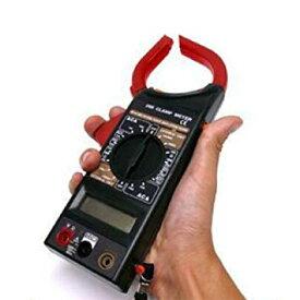 高性能デジタルクランプメーター 電圧 電流 抵抗 測定器 マルチメーター[送料無料(一部地域を除く)]