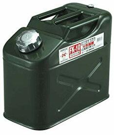 メルテック(meltec) 10Lガソリン缶/ ガソリン携行缶/ガソリン携帯缶/ジープ缶 縦型 FK-10【YDKG-kd】 [その他CA][送料無料(一部地域を除く)]