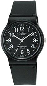 [シチズン キューアンドキュー]CITIZEN Q&Q 腕時計 Falcon (フォルコン) アナログ表示 10気圧防水 ブラック×ホワイト VP46-854[定形外郵便、送料無料、代引不可]