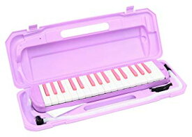 KC キョーリツ 鍵盤ハーモニカ メロディピアノ 32鍵 ラベンダー P3001-32K/LAV (ドレミ表記シール・クロス・お名前シール付き)[送料無料(一部地域を除く)]