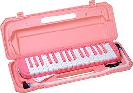 KC キョーリツ 鍵盤ハーモニカ メロディピアノ 32鍵 サクラ P3001-32K/SAKURA (ドレミ表記シール・クロス・お名前シール付き)[送料無料(一部地域を除く)]
