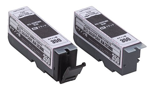 Color Creation キャノン BCI-350PGBK互換 インクカートリッジ ブラック 交換用タンク CF-C350LPGBK T1 [メール便発送、送料無料、代引不可]【YDKG-kd】【smtb-KD】[プリンター][消耗品]