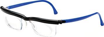 アドレンズ 遠近・老眼対応 度数調節老眼鏡 スペアペア ブルー EM02-BK/BU[メール便発送、送料無料、代引不可] 【YDKG-kd】【smtb-KD】 [便利]
