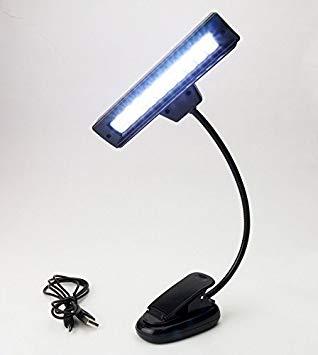 USB&単4型電池3本 2電源対応クリップ式LED10灯譜面台ライト[メール便発送、送料無料、代引不可] 【YDKG-kd】【smtb-KD】[楽器]