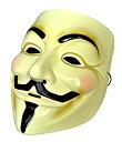 ガイ・フォークス アノニマスのマスク 肉厚タイプ コスチューム用小物 男女共用 MM-GFMASK01[定形外郵便、送料無料、…