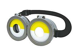 ミニオン なりきり ミニオンズ めがね ver2 半目 サイズ調整 開閉可能 ゴーグル 眼鏡 サングラス[定形外郵便、送料無料、代引不可]
