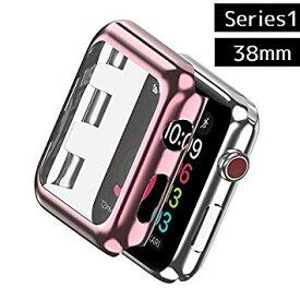 Apple Watch カバー Series1 38mm アップルウォッチ 保護 ケース (ローズゴールド)[定形外郵便、送料無料、代引不可]