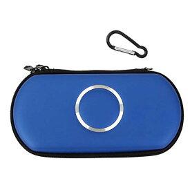 PSPポーチ 収納ポーチ 収納ケース バッグ PSP 1000 2000 3000[ (ブルー)[定形外郵便、送料無料、代引不可]