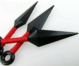くない手裏剣 3枚セット 赤 苦無 クナイ 忍者の道具 コスプレ 衣装 小道具[定形外郵便、送料無料、代引不可]